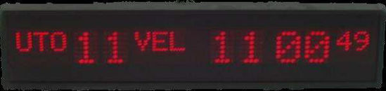 Picture of Dvostrani digitalni matrični sat EDMS2035