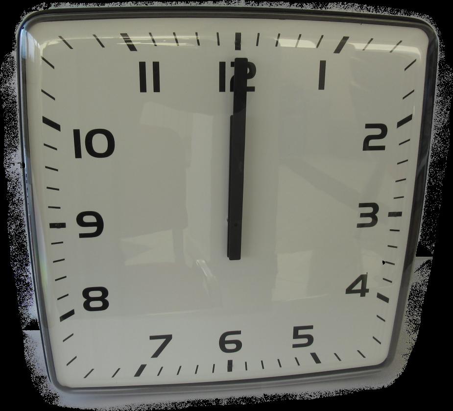 Picture of Jednostrani pravokutni analogni sat 40 cm ELAK EAC1040R