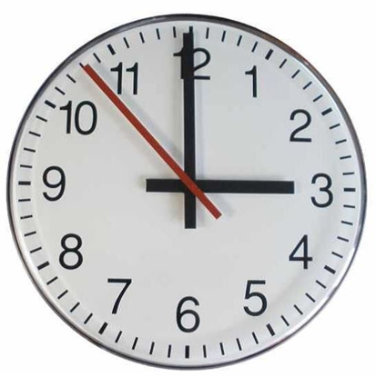 Picture of Jednostrani sekundni analogni sat 30 cm ELAK EAC1030S